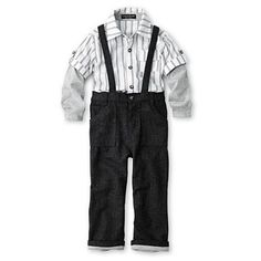 Wendy Bellissimo™ Suspenders Set - Boys 6m-24m - jcpenney
