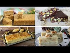 4 turrones CASEROS para la NAVIDAD🎅Cuál es tu preferido?? - YouTube Turon, Chilean Recipes, Spanish Food, Spanish Recipes, Latin Food, Holiday Festival, Sin Gluten, Sweet Bread, Cake Pops