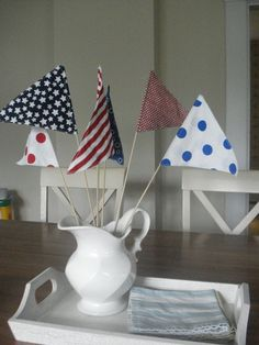 Fourth of July is coming -- cute idea!