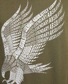 Imagem 7 de SWEATSHIRT ESTAMPADA COM LETRAS da Zara Polo Design, Design Café, Print Design, Typographic Design, Typography Art, Eagle Icon, Cool T Shirts, Tee Shirts, Inspiration Art