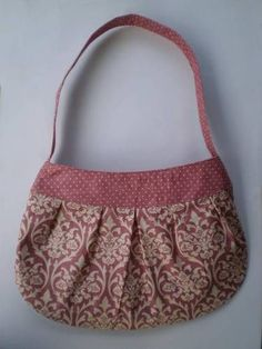 Buttercup Bag Pattern met rits