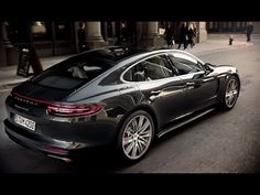 The new, second generation Porsche Panamera. Ugly duckling is all grown up and it is now a beautiful swan!