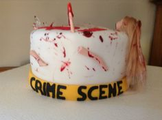 Dexter Birthday Cake