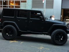 All Black Jeep Wrangler Unlimited
