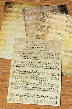 Classic music Post Card Set