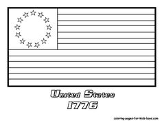 american flag star coloring page coloring pages for all ages