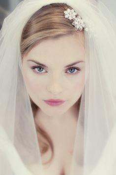 Miss Bush Bridalwear veil shoot | Wonderful Wedding Hair