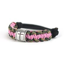 """Cross Power Product Pink Salvation Survival Bracelet  $12.99, Show your love for our Lord with this cool Cross Power Bracelet.  It is made of 3 strand Parachute cord material that holds 285 lb. so it can be used in a survival situation. There is also a """"Duck Band"""" with Cross Power logo printed and engraved Phil. 4:13 """"I can do all things through Christ who strengthens me."""" To order go to www.prodigy3.com/GeauxGetemGirl, with your purchase you will help Christian Ministries help other in…"""