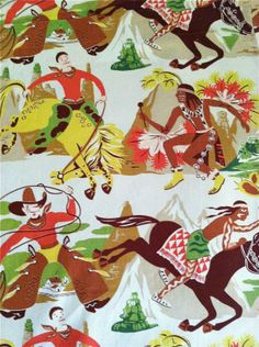 Cowboys And Savage Injuns For The Windows In Your Impressionable Little  Boyu0027s ...