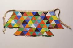 North Sotho, South African Beaded Apron