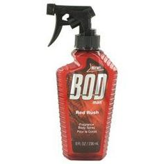 Bod Man Red Rush By Parfums De Coeur Body Spray 8 Oz (pack of 1 Ea)