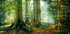 """sacred grove"" by greg olsen. i want to have this on my wall someday."
