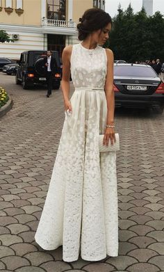 2017 prom party dresses, white lace party dresses, scoop sleeveless evening dresses, prom dresses 2017, vestidos. fashion