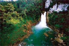 Mount Hagen Waterfall, Papua New Guinea