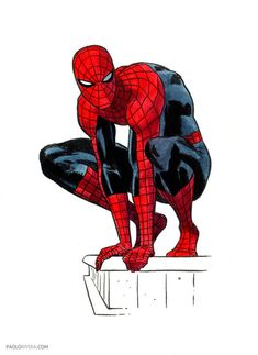 Spider-Man Sketches by Paolo Rivera