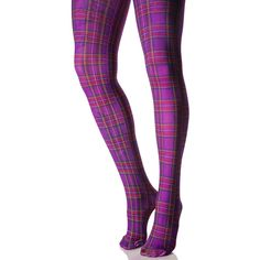 Tips for Buying Tights, Pantyhose and Other Legwear Online Opaque Stockings, Stockings Legs, Opaque Tights, Purple Tights, Plaid Tights, Cute Tights, Striped Tights, Stockings, Tights