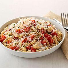 Pasta with Roasted Tomatoes Recipe | MyRecipes.com