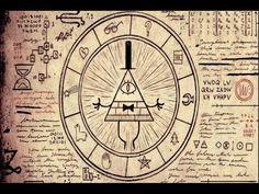 el diario de gravity falls-bill ritual