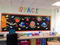 Space Planets Display, classroom display, Space, planets, rocket