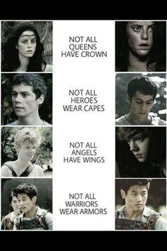 Who's your favorite? Teresa, Thomas, Newt, or Minho?