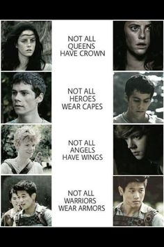 Who's your favorite? Teresa, Thomas, Newt, or Minho?