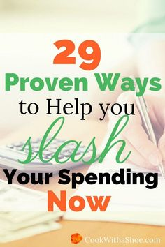 When was the last time you planned to overspend? Here are 29 proven ways to help you slash overspending now.