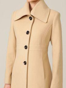 Wool Blend Wide Collar Coat by Via Spiga - Found at #GiltLive via @GiltGroupe