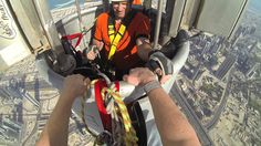 When Architectural Photography and Aerial Photography combine while still be graunded:  Joe McNally Photography- Climbing the Burj Khalifa (The World's Tallest ...Building)