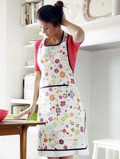 Craft Project: Floral Apron
