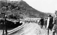 "July 12, 1917: The Bisbee Deportation. About 1300 striking mine workers from Bisbee, Arizona were forced by some 2000 ""deputized"" citizens into cattle cars and sent on a 16-hour ride to Hermanas, New Mexico. They were left there without food, money, or transportation.   Many had not had water since their arrest. Amazingly, the federal government had no power to interfere."