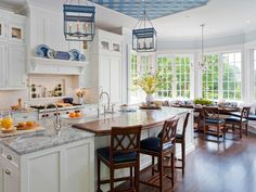 Two Countertops Are Better Than One - High-End Kitchen Countertop Choices on HGTV