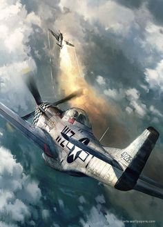 North American P-51 Mustang *Repin by Tburg*