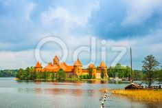 Qdiz Stock Photos | Medieval old castle in Trakai, Lithuania,  #ancient #Antiquities #architecture #attraction #Baltic #beautiful #Brick #building #castle #cloud #country #countryside #culture #Europe #Fairy #Famous #fantasy #Galve #History #kingdom #lake #landmark #landscape #Lithuania #Medieval #MiddleAges #Moat #Museum #obsolete #old #palace #Past #place #relaxation #Ruin #sky #Tale #traditional #Trakai #Travel #Vacations #water