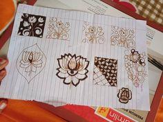Instagram post by Samreen Mehendi Artist • Aug 28, 2018 at 5:40am UTC Baby Mehndi Design, Mehndi Designs Finger, Basic Mehndi Designs, Henna Hand Designs, Beginner Henna Designs, Stylish Mehndi Designs, Wedding Mehndi Designs, Mehndi Designs For Fingers, Beautiful Mehndi Design