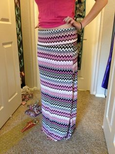 Maxi Skirt! Finally made my own!