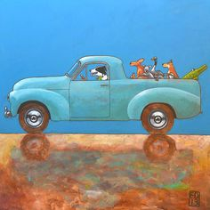 189 Holden Ute   NEW  signed and numbered giclee print  by edart, $18.00