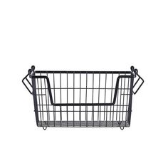 This metal storage basket is perfect for storing books, toys, magazines, or even display it full of fruit on your kitchen bench! Matte black in colour, these st Boy And Bird, Storing Books, Kitchen Benches, Storage Baskets, Matte Black, Steel, Magazines, Gifts, Display