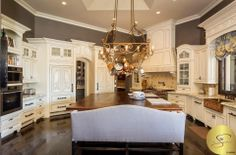 Luxury French Country Kitchen   www.thestillingsgroup.com