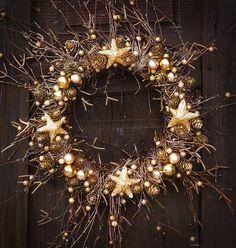 christmas wreath by Farsz handmade, via Flickr
