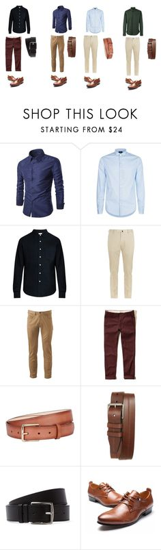 """""""WORK"""" by luuk-prins ❤ liked on Polyvore featuring Armani Jeans, Simon Miller, Slowear, Dockers, Hollister Co., Paul Smith, 1901, Hermès, Les Hommes and men's fashion"""