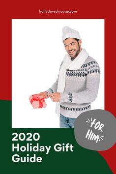 Gift guide for all the special men in your life! #2020holidays #2020giftguide #giftsforhim