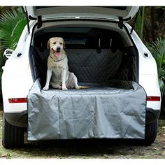 Quilted Pet Dog Heavy Duty Boot Liner Protector For NISSAN NAVARA