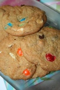 Amish Friendship Bread Monster Cookies by Kitchen Friend @Susie QTPies Scraps of Life