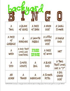 Funner in the Summer with My Insanity- Backyard Campout + Bingo Printable - Thirty Handmade Days