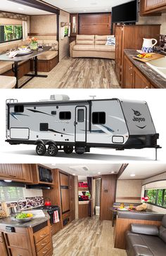 The Jayco Feather Travel Trailer | Perfect for short camping trips | Shop more floorplans at Campers Inn RV!