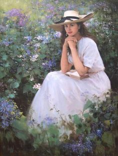 Spring Awakening,  painting by An He