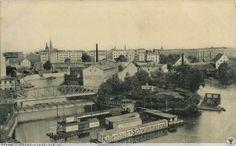 Wyspa Bielarska i kąpielisko Kallenbacha.Rok 1912