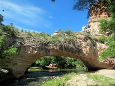 Ayres Natural Bridge is located in Douglas and is considered to be one of Wyoming's first tourist attractions. The Native Americans thought that evil spirits lived under the bridge so the settlers would hide from the Native Americans under the bridge during an attack.