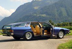 1978 Lamborghini Faena, design Frua.