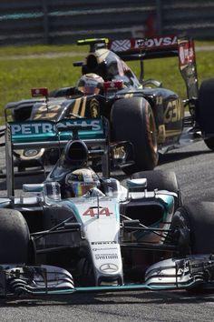 On Track w/Lewis Hamilton at the #F1 2015 Petronas Malaysian Grand Prix